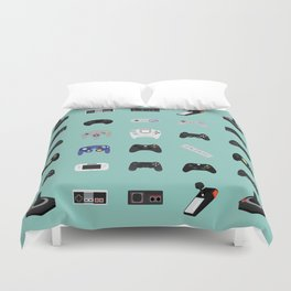Console Evolution Duvet Cover