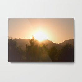 Arizona Surise Metal Print