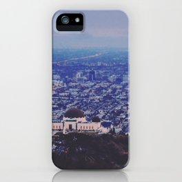 Griffith Observatory iPhone Case