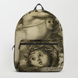 Mercury Child Antique Engraving Backpack