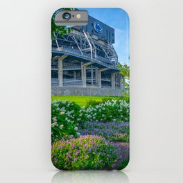 Penn State University Football Stadium Flowers iPhone Case