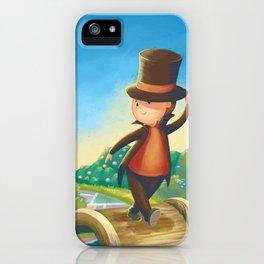 Professor Layton iPhone Case