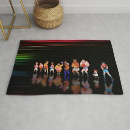 Punch Out - Pixel art Rug