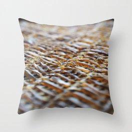 Net work Throw Pillow