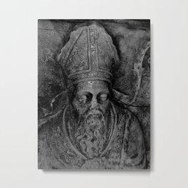 Statue #9 Metal Print