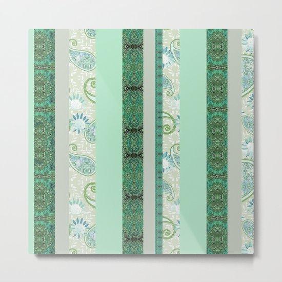 Zakiaz French Stripe Green/Grey by zakiazdesigns
