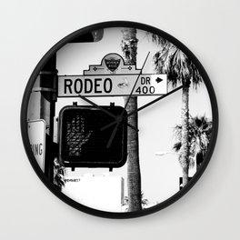 Rodeo Drive Wall Clock