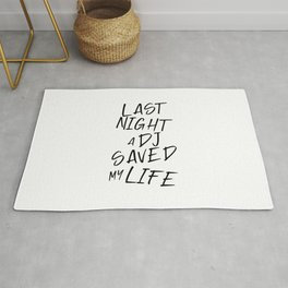 Last night a Dj saved my life from a broken heart. For house music lovers. House music fans. Rug