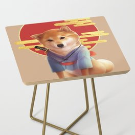 Samurai Shiba Side Table