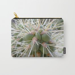 Watercolor Cactus, Walking Stick 01, Ventana Canyon, Arizona, Ouch! Carry-All Pouch