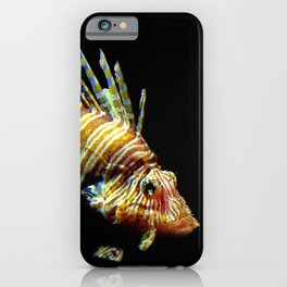 Red Lionfish iPhone Case