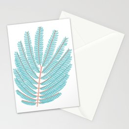 Even pinnate Leaves Vector Illustration Stationery Cards
