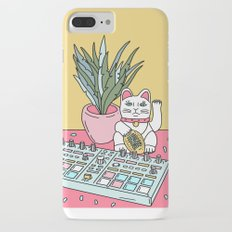 Sad cat pad iPhone 8 Plus Slim Case