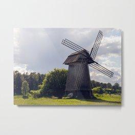 Old summer mill  Metal Print