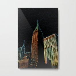 Big Buildings in the Big Apple DPPA140818a Metal Print