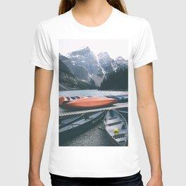 Moraine Lake Canoes T-shirt
