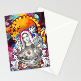 Imaculado Coração de Maria (Immaculate Heart)  Stationery Cards