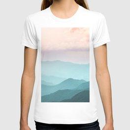 Smoky Mountain National Park Sunset Layers II - Nature Photography T-shirt