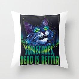 scott robertson green sometimes dead is better t-shirt tank top sticker  phone case prints Throw Pillow