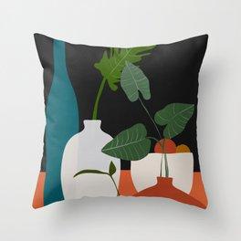 Vases5 Throw Pillow