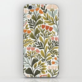 Month of May ~ white iPhone Skin