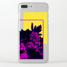 Neon Succulents #society6 #succulent Clear iPhone Case