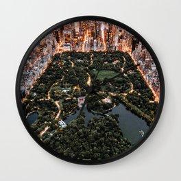 Central Park New York Wall Clock