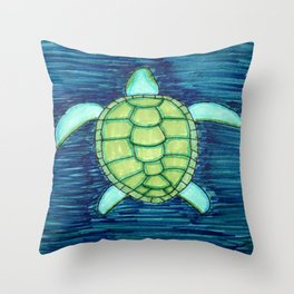 turtle Throw Pillow