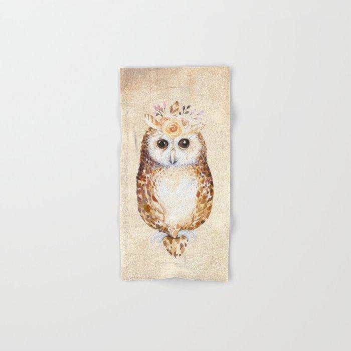 Owl Hand & Bath Towel