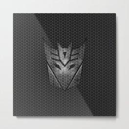 DECEPTICON Metal Print