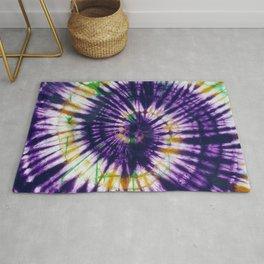 Tie Dye Purple Play Rug