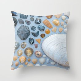 Sally Sells Sea Shells and I bought 'em Throw Pillow