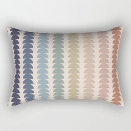 Maude Pattern- Vintage Multicolor Rectangular Pillow