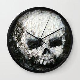 Skull Art by Jack Larson Wall Clock