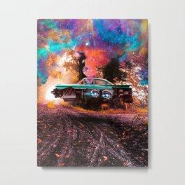 Future Car Metal Print