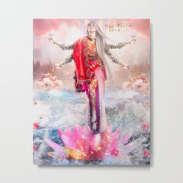 Queen Goddes Metal Print