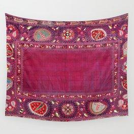 Shakhrisyabz  Southwest Uzbekistan Suzani Embroidery Print Wall Tapestry