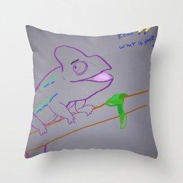 Ah Caray! Throw Pillow