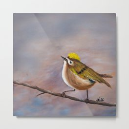 Goldcrest Songbird Metal Print