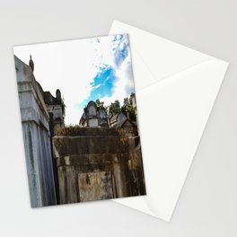 Bury Me Above Ground Stationery Cards