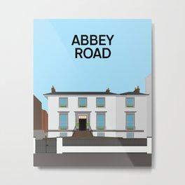 Abbey Road Studios Metal Print