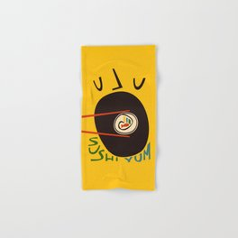 Yum Sushi Hand & Bath Towel