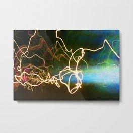 Light Painting 77 Metal Print