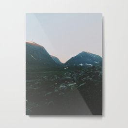 Northern Lappland Metal Print