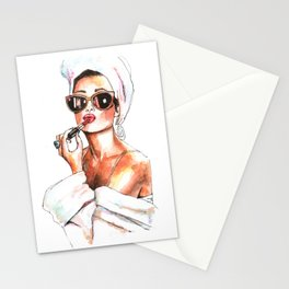 Fashion Lady Stationery Cards
