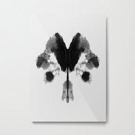 Form Ink Blot No. 30 Metal Print