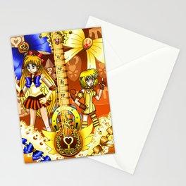 Sailor Mew Guitar #25 - Sailor Venus & Mew Pudding Stationery Cards