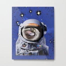 Astronaut Food Metal Print