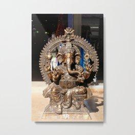 Ganesha - Hindu God Metal Print