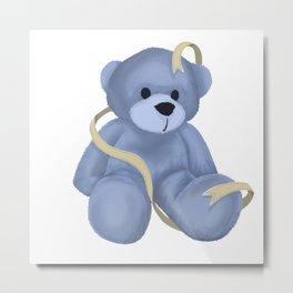 Stuffed Bear Metal Print